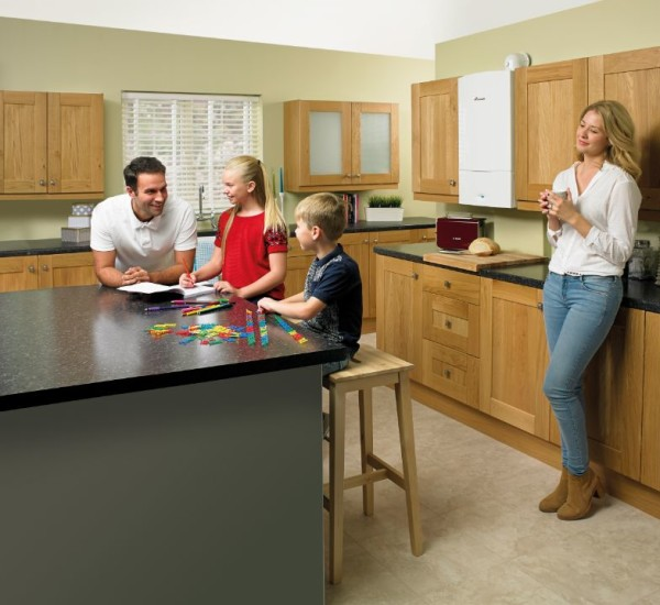 An image of a Worcester Bosch Greenstar Gas Boiler Family