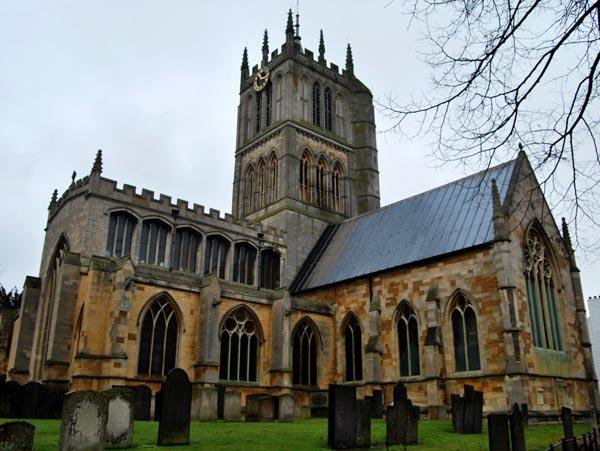 An image showing a church in melton Mowbray