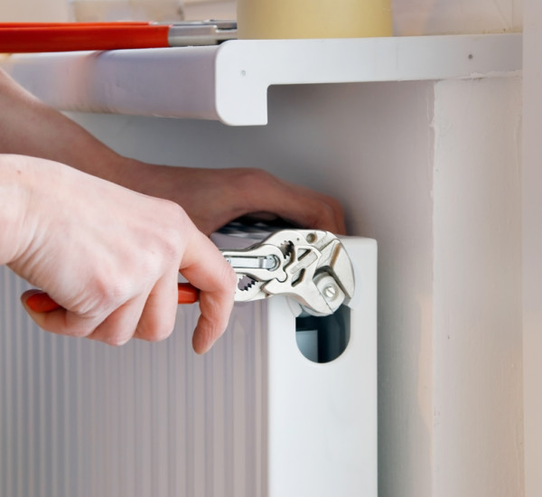 An image showing Radiator repair by EGP Plumbers