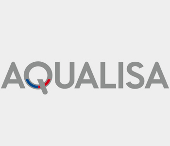 An image displaying the AQUALISA logo for EGP Plumbers