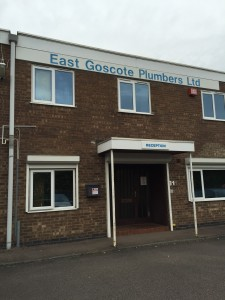 An image of the East Goscote Plumbers Head Office