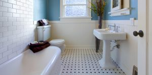 An image of a traditional bathroom that has been installed in a home by EGP Plumbers