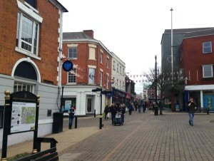 An image of Hinckley town centre