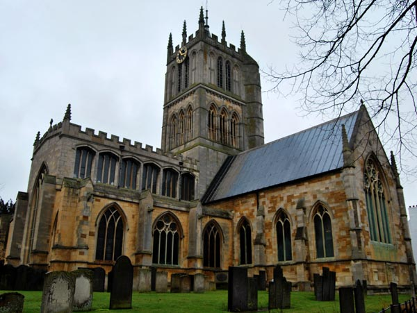 An image showing a church in melton Mowbray