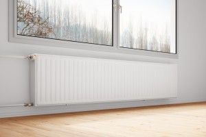 An image showing an under window radiator