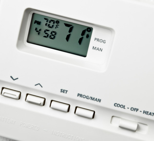 An image of a temperature control system by EGP Plumbers